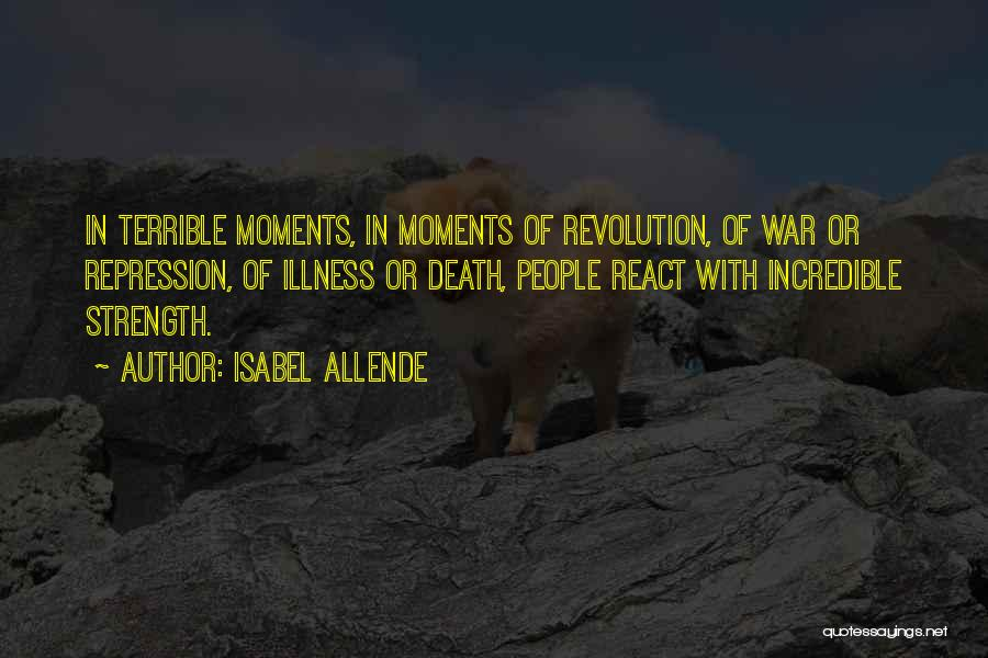 Death In War Quotes By Isabel Allende