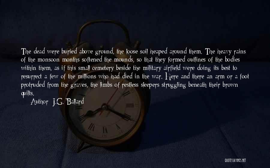 Death In War Quotes By J.G. Ballard