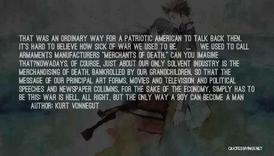 Death In War Quotes By Kurt Vonnegut