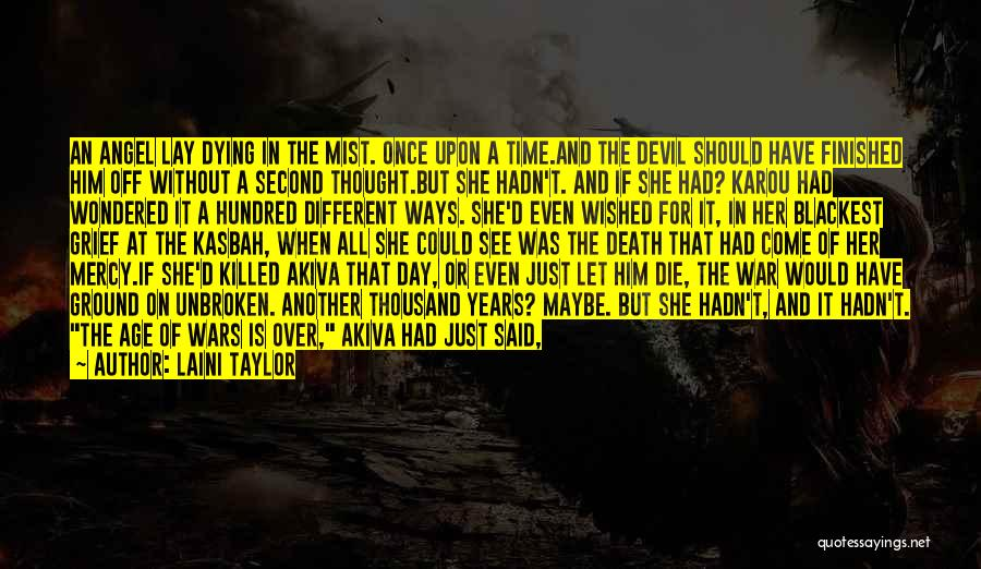 Death In War Quotes By Laini Taylor