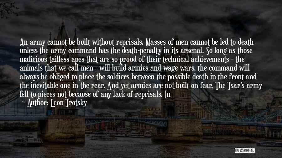 Death In War Quotes By Leon Trotsky