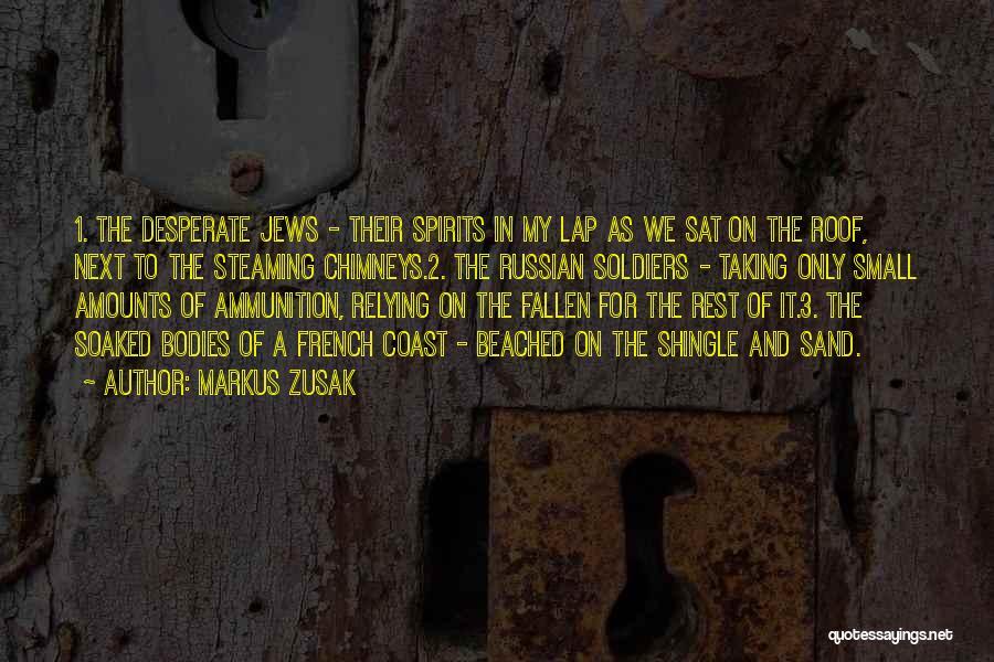 Death In War Quotes By Markus Zusak