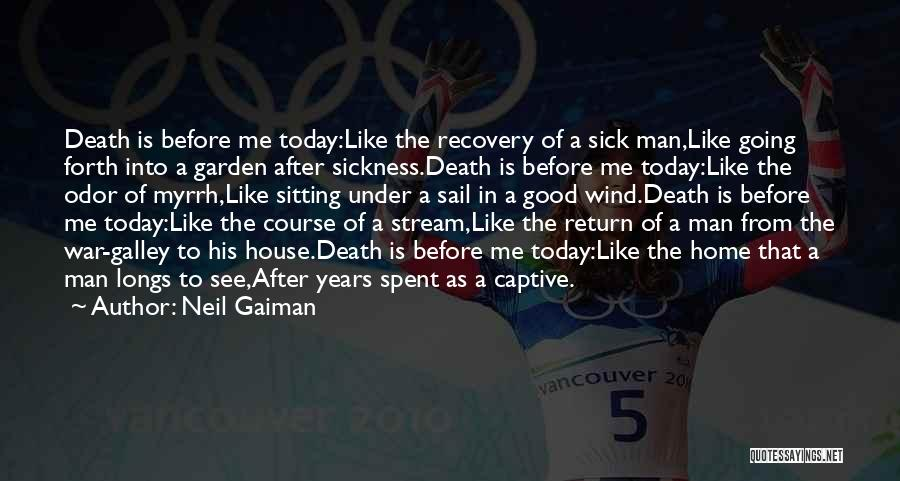 Death In War Quotes By Neil Gaiman