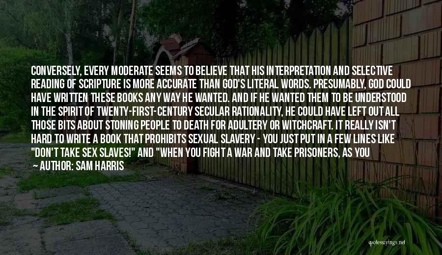 Death In War Quotes By Sam Harris