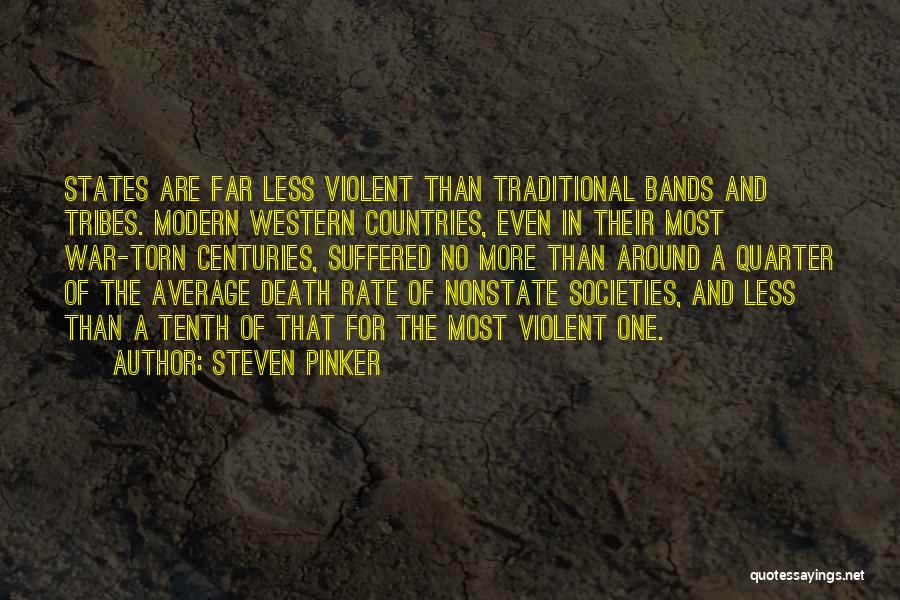 Death In War Quotes By Steven Pinker