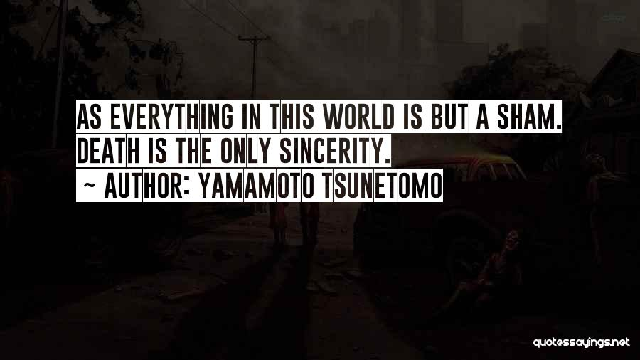 Death In War Quotes By Yamamoto Tsunetomo