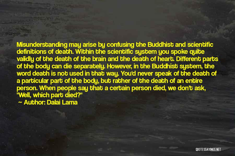 Death Is Certain Quotes By Dalai Lama