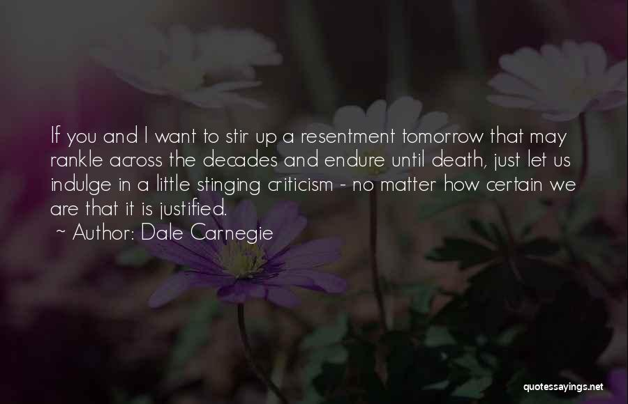 Death Is Certain Quotes By Dale Carnegie