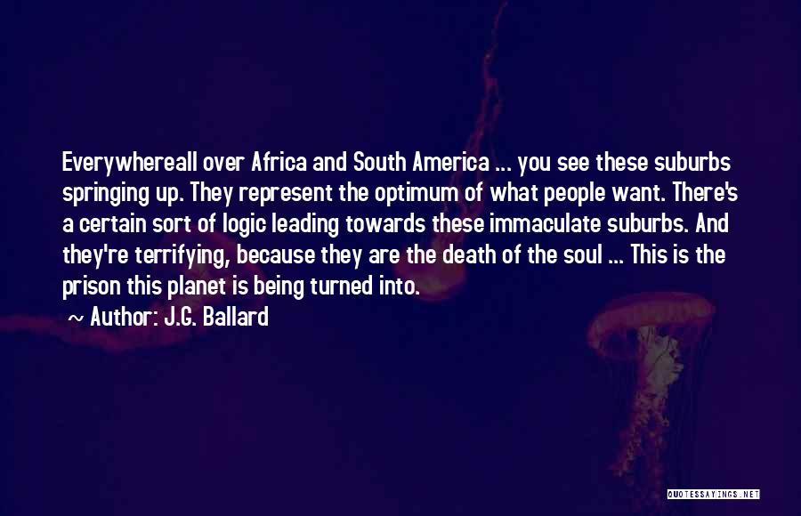 Death Is Certain Quotes By J.G. Ballard