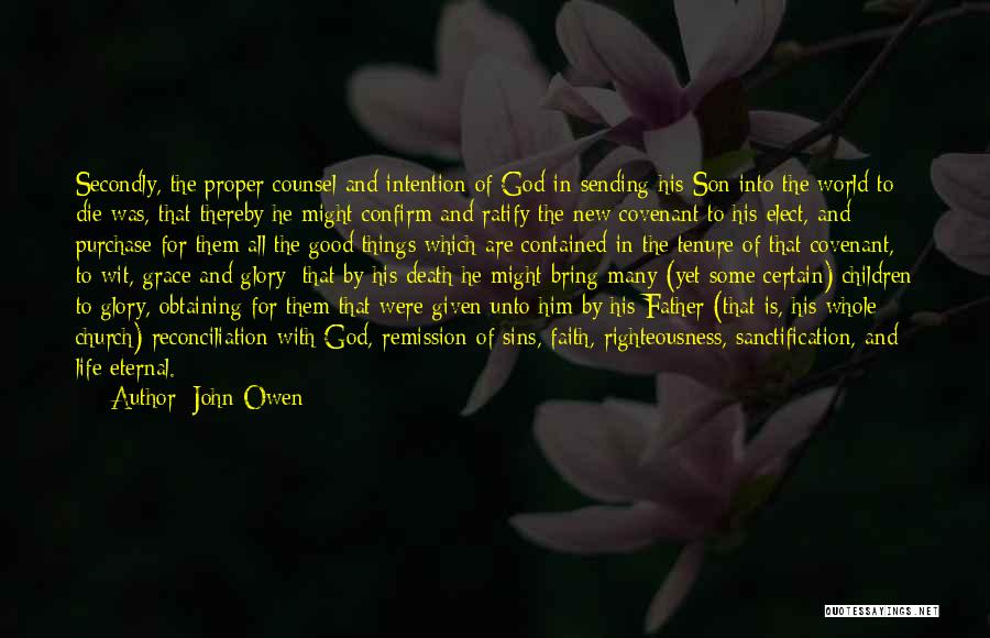 Death Is Certain Quotes By John Owen