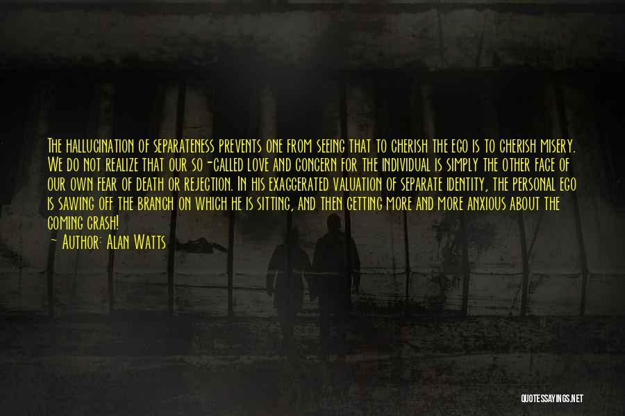 Death Is Coming Quotes By Alan Watts