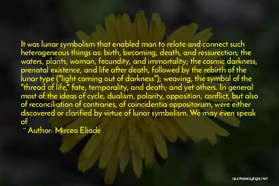 Death Is Coming Quotes By Mircea Eliade