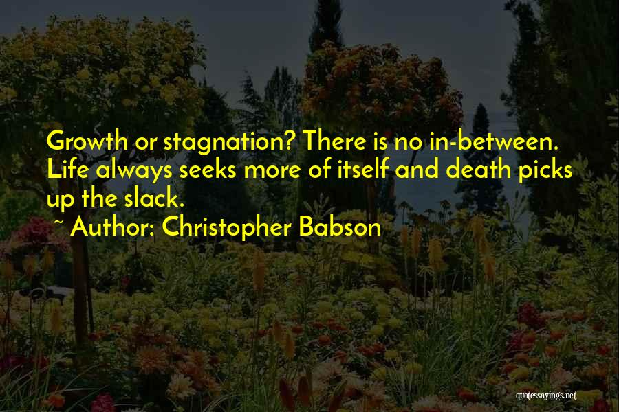 Death Motivational Quotes By Christopher Babson