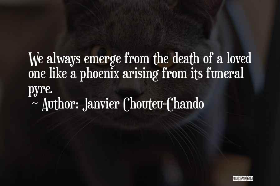 Death Motivational Quotes By Janvier Chouteu-Chando