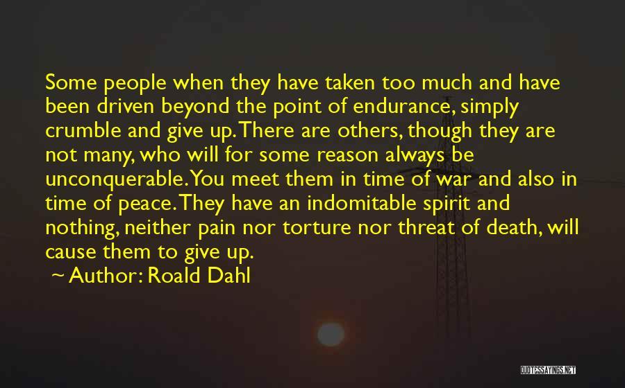Death Motivational Quotes By Roald Dahl