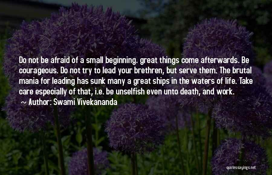 Death Motivational Quotes By Swami Vivekananda
