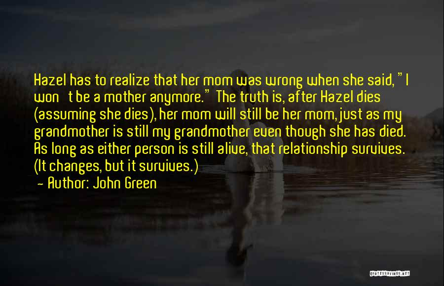 Top 14 Quotes & Sayings About Death Of A Mother And Grandmother