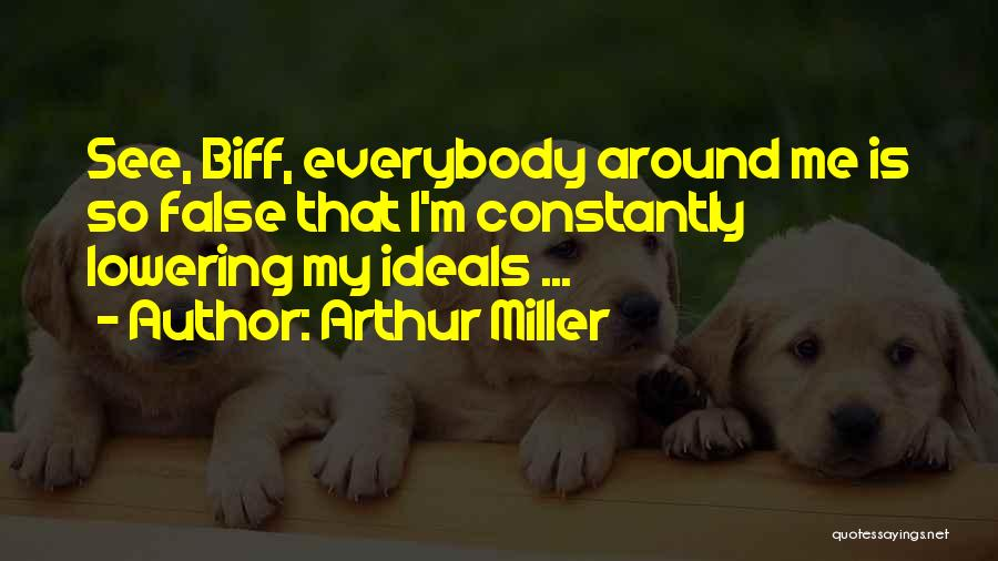 Death Of Salesman Quotes By Arthur Miller