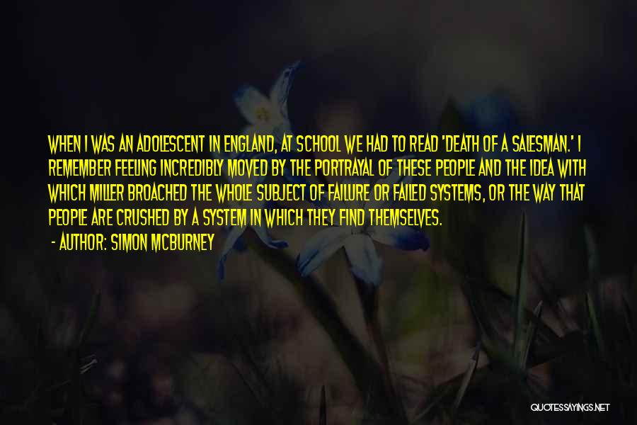 Death Of Salesman Quotes By Simon McBurney