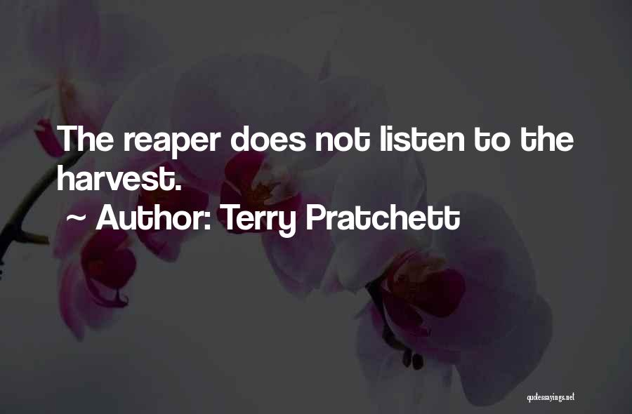 Death Reaper Quotes By Terry Pratchett