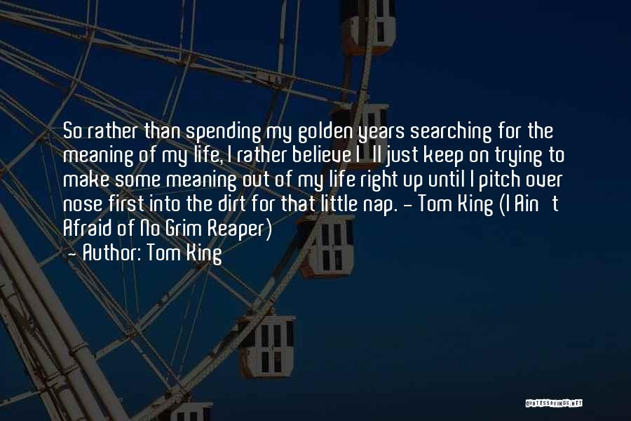 Death Reaper Quotes By Tom King