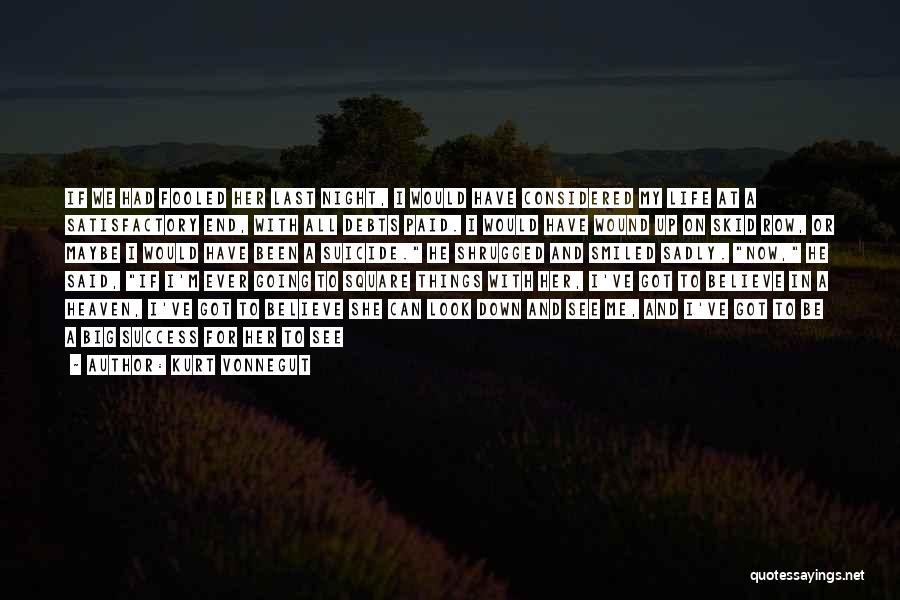 Death Row Last Quotes By Kurt Vonnegut