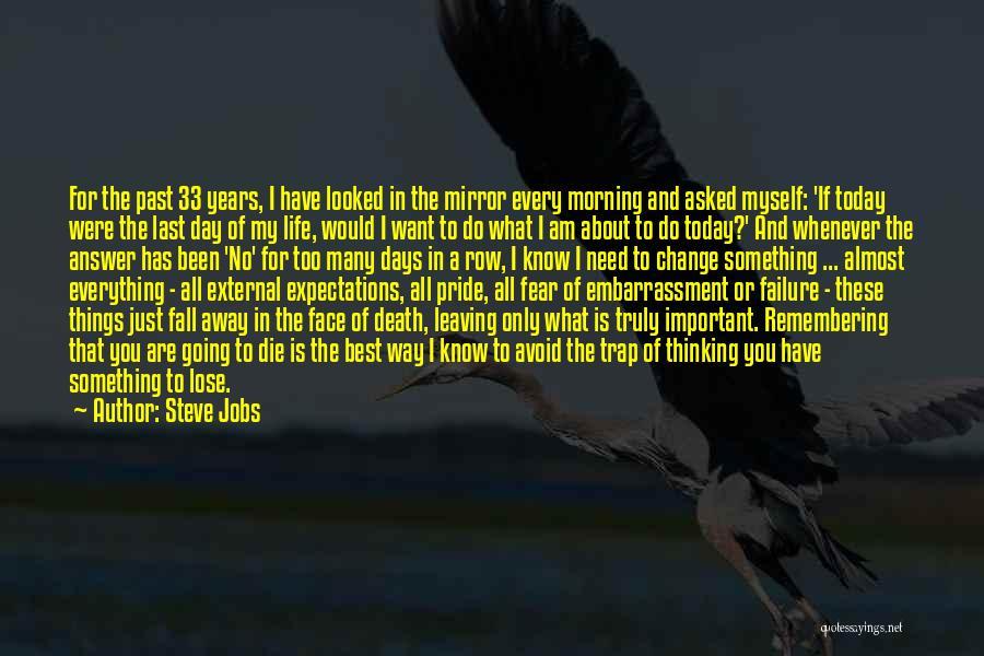 Death Row Last Quotes By Steve Jobs