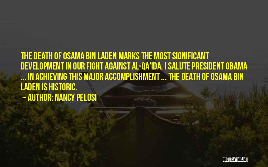 Death Salute Quotes By Nancy Pelosi