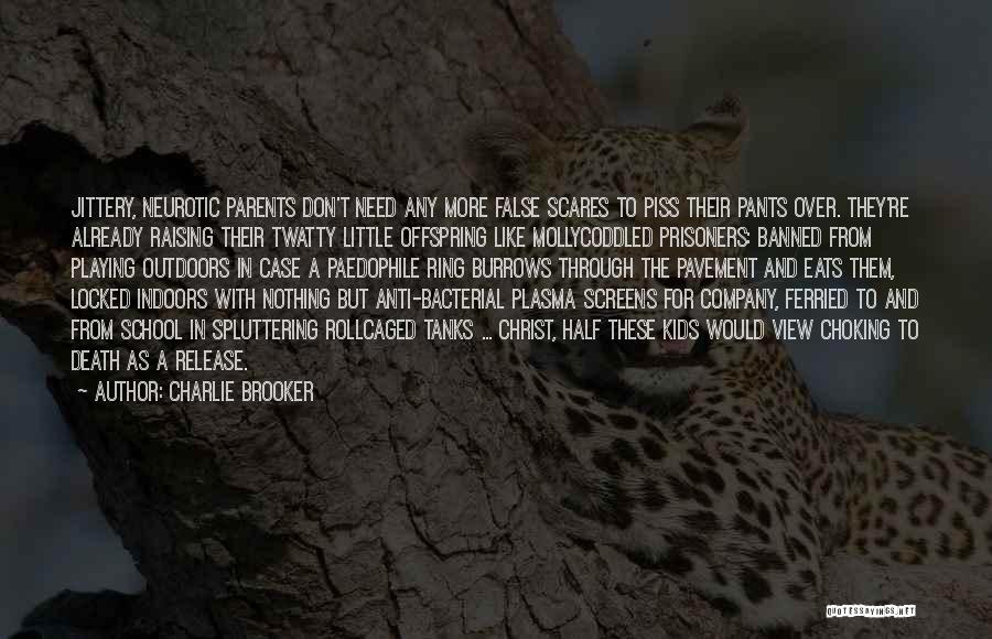 Death Scares Me Quotes By Charlie Brooker