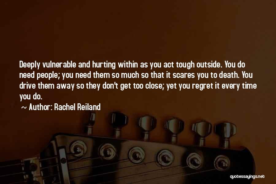 Death Scares Me Quotes By Rachel Reiland