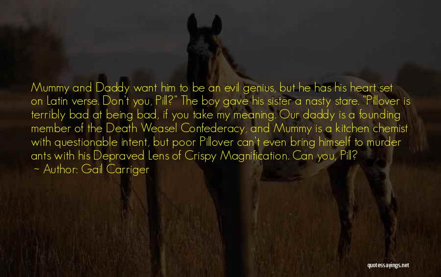 Death Stare Quotes By Gail Carriger