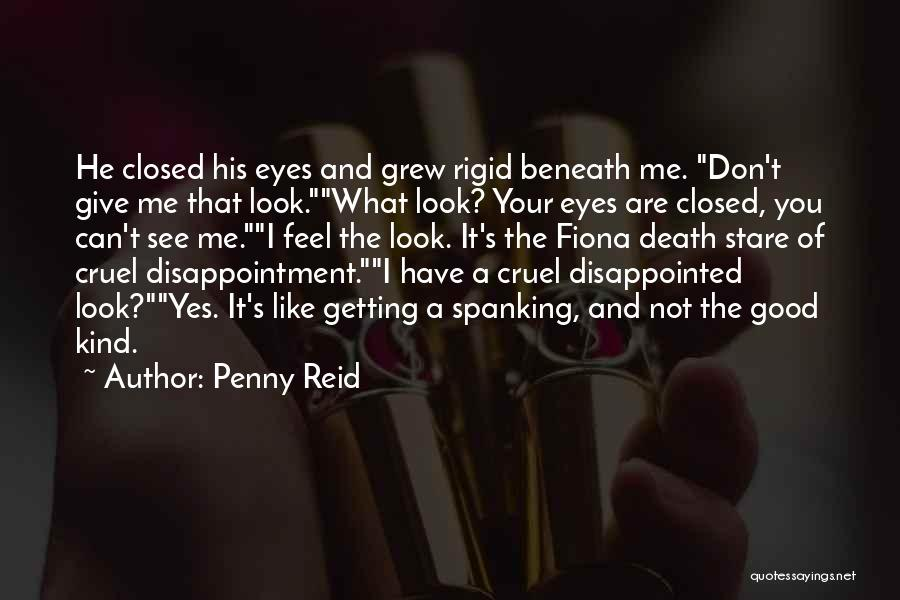 Death Stare Quotes By Penny Reid