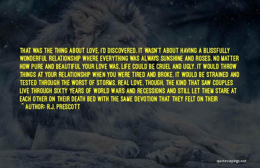 Death Stare Quotes By R.J. Prescott