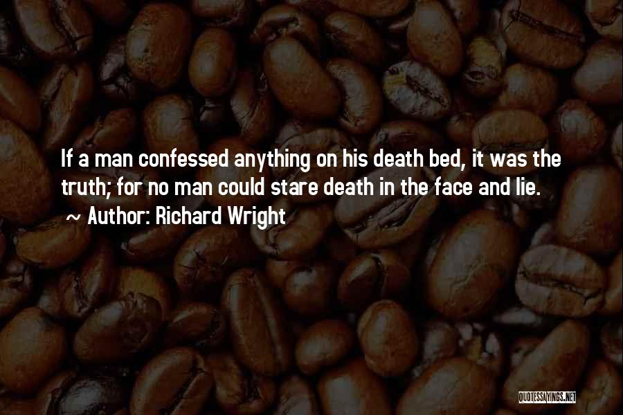 Death Stare Quotes By Richard Wright