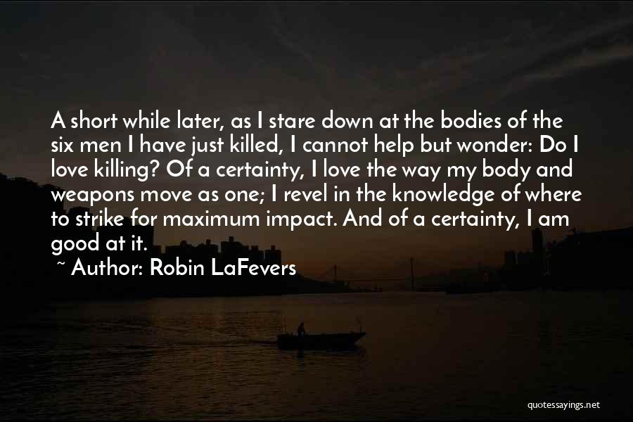 Death Stare Quotes By Robin LaFevers