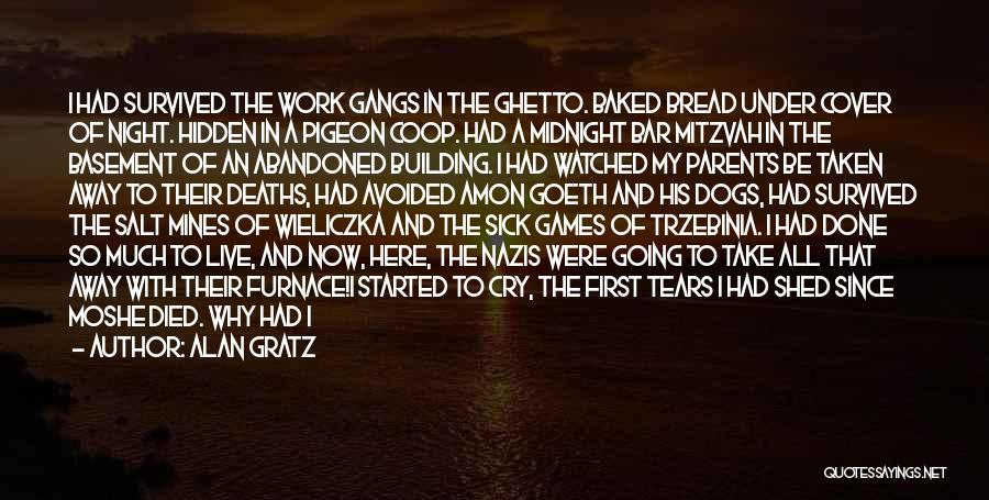 Death Take Me Away Quotes By Alan Gratz