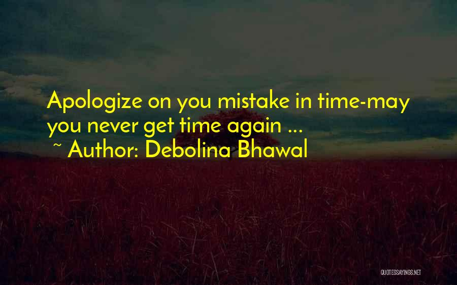 Debolina Bhawal Quotes 1539376