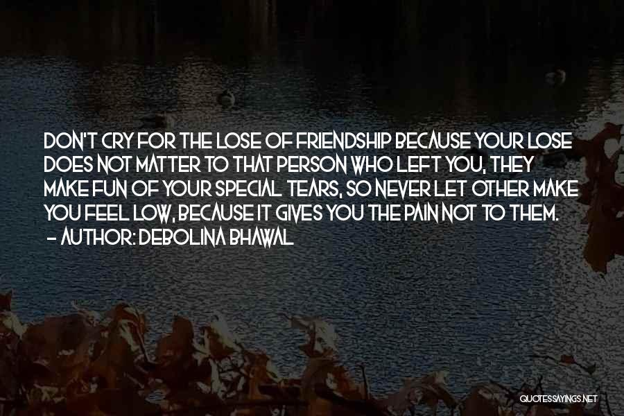Debolina Bhawal Quotes 1936291