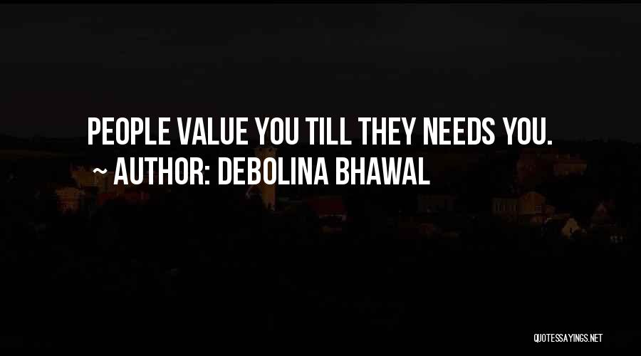 Debolina Bhawal Quotes 819557