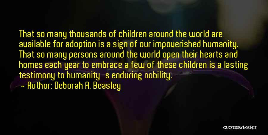 Deborah A. Beasley Quotes 833996