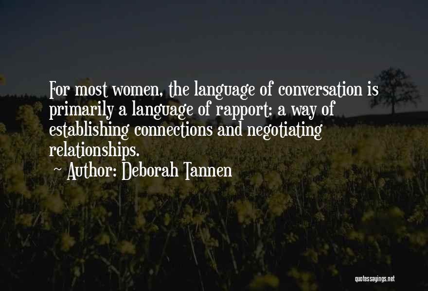 Deborah Tannen Quotes 237620