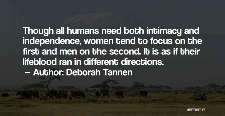 Deborah Tannen Quotes 258694