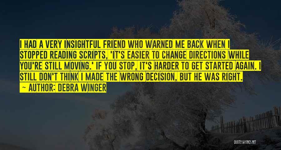 Debra Winger Quotes 1458155