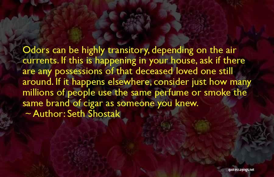 Deceased Loved Ones Quotes By Seth Shostak