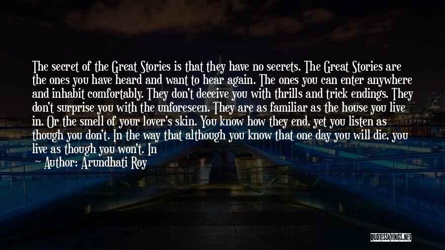Deceive In Love Quotes By Arundhati Roy