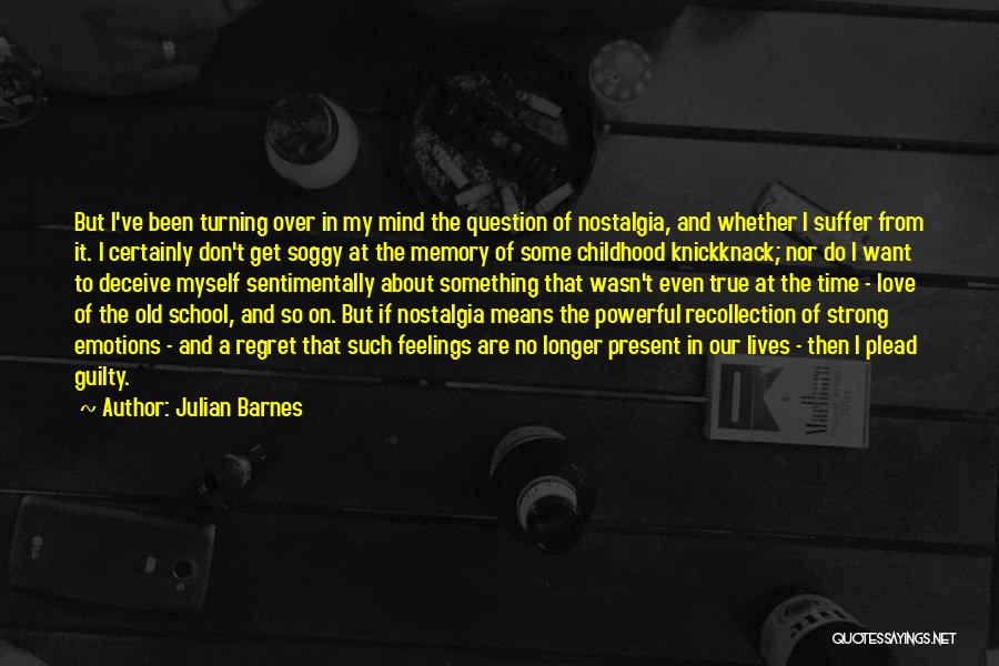 Deceive In Love Quotes By Julian Barnes