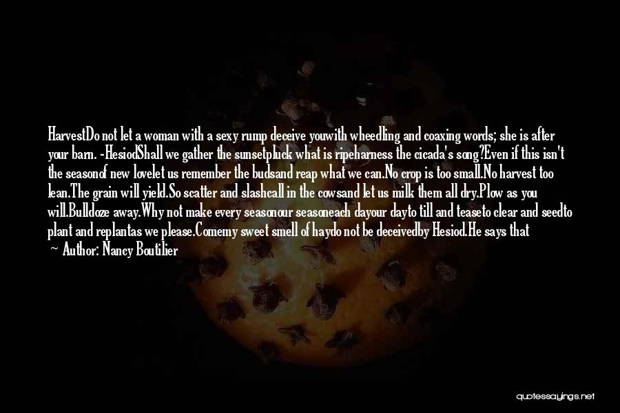 Deceive In Love Quotes By Nancy Boutilier