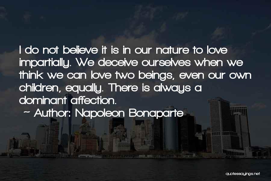 Deceive In Love Quotes By Napoleon Bonaparte
