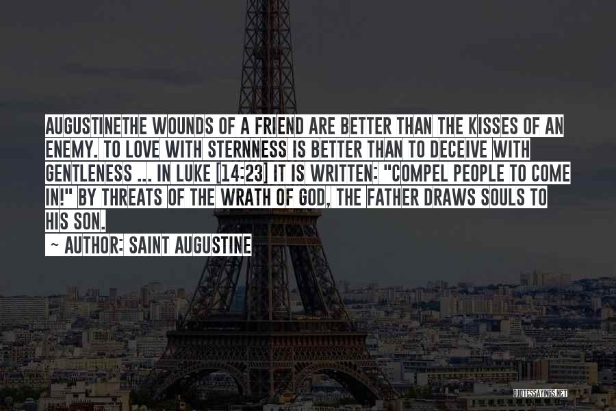 Deceive In Love Quotes By Saint Augustine