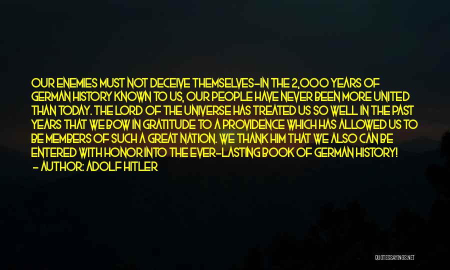 Deceive Quotes By Adolf Hitler